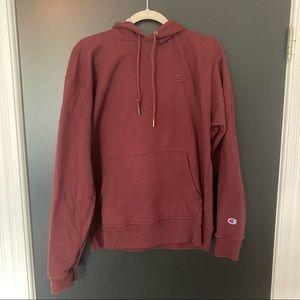 Champion Sweatshirt, Burgundy, Size L